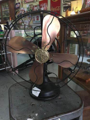 Brass Fan